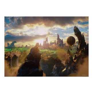 Oz: The Great and Powerful Poster 4 Print