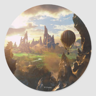 Oz: The Great and Powerful Poster 4 Round Sticker