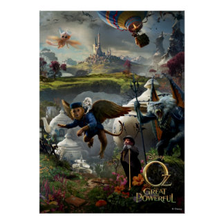 Oz The Great and Powerful Poster 5 Posters