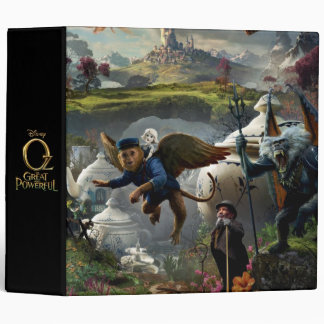 Oz: The Great and Powerful Poster 5 3 Ring Binder