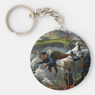 Oz: The Great and Powerful Poster 5 Basic Round Button Keychain
