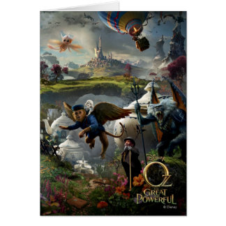 Oz: The Great and Powerful Poster 5 Card