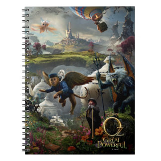 Oz: The Great and Powerful Poster 5 Note Book