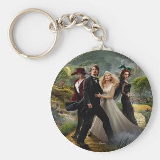 Oz: The Great and Powerful Poster 6 Basic Round Button Keychain