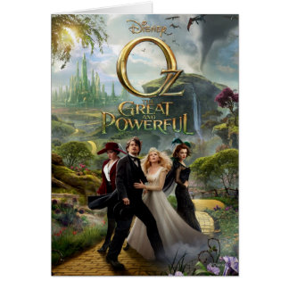 Oz: The Great and Powerful Poster 6 Greeting Card