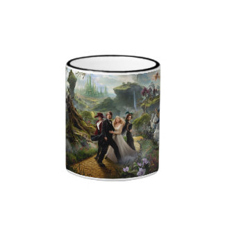 Oz: The Great and Powerful Poster 6 Ringer Mug