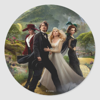 Oz: The Great and Powerful Poster 6 Round Sticker