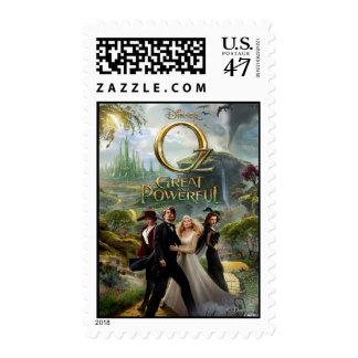Oz: The Great and Powerful Poster 6 Stamp