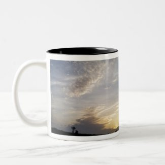 oz Two-Tone coffee mug