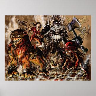 Oz War Poster