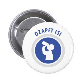 ozapftis Oktoberfest bavarian icon Pinback Button