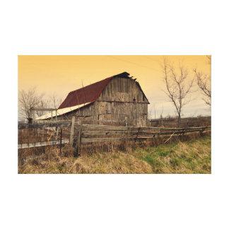 Ozark Barn Canvas Print