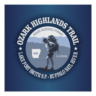 Ozark Highlands Trail Poster