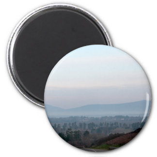 Ozark Mountains 2 Inch Round Magnet