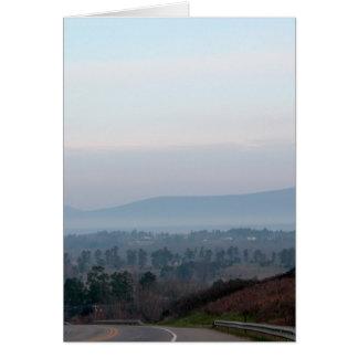 Ozark Mountains Card