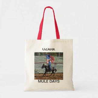 Ozark mule days, Ozark Mule Days Canvas Bags