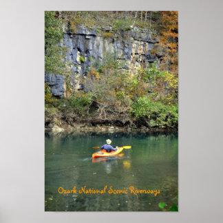 Ozark National Scenic Riverways Poster