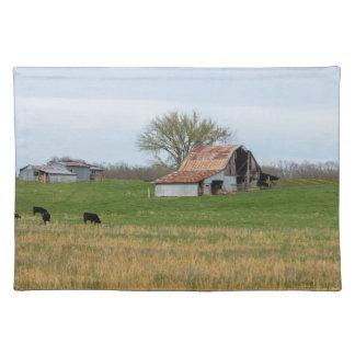 Ozark Old Farm Cloth Placemat