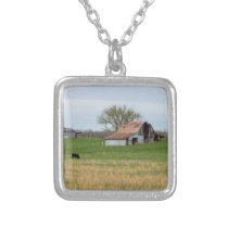 Ozark Old Farm Silver Plated Necklace