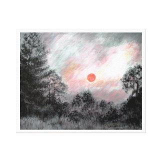 OZARK SUNRISE by CR SINCLAIR Canvas Print