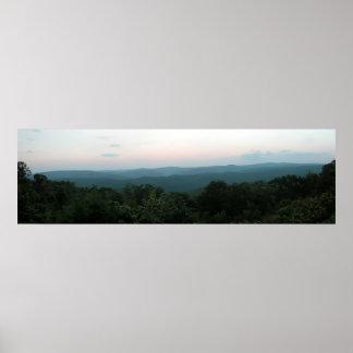 Ozarks, Arkansas Panoramic 1 Poster
