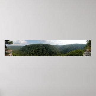 Ozarks, Arkansas Panoramic 4 Poster
