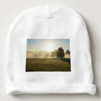 Ozarks Morning Fog Baby Beanie