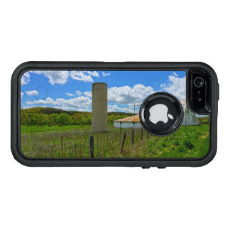 Ozarks Old Barn And Silo OtterBox Defender iPhone Case