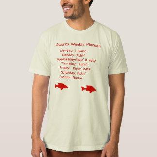 Ozarks Weekly Planner tshirt