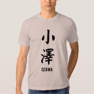 Ozawa en kanji playera