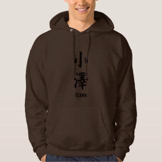 Ozawa en kanji sudaderas