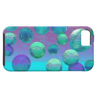 Ozean-Träume - Aqua und violette Ozean-Fantasie iPhone 5 Covers