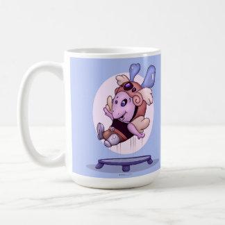 OZEL FUNNY ALIEN  15 oz Classic White Mug