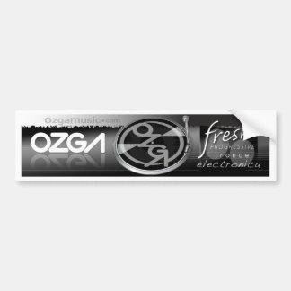 OZGA Marquee Bumper Sticker