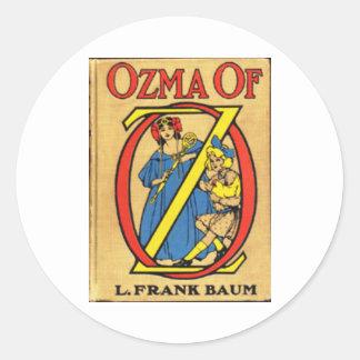 Ozma Of Oz Classic Round Sticker