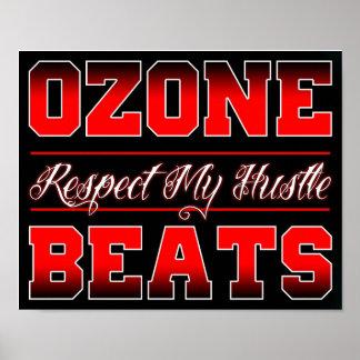 OZN BTS Respect My Hustle Poster (18.75 x 12 in.)