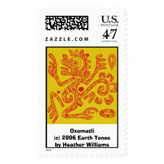 Ozomatli Postage Stamp