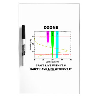 Ozone Can't Live With It Can't Have Life Without Dry Erase Board