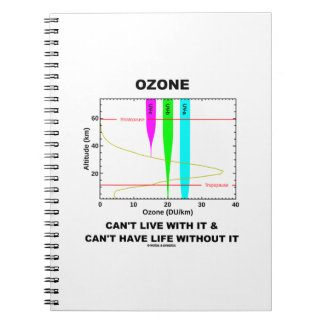 Ozone Can't Live With It Can't Have Life Without Notebook