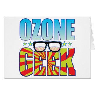 Ozone Geek v4 Greeting Cards