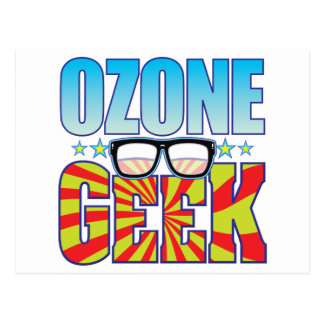 Ozone Geek v4 Post Card