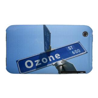Ozono en placa de calle Case-Mate iPhone 3 cobertura