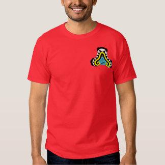 Oztotl - Aztec Cave Symbol T Shirt