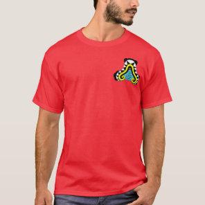 Oztotl - Aztec Cave Symbol T-Shirt