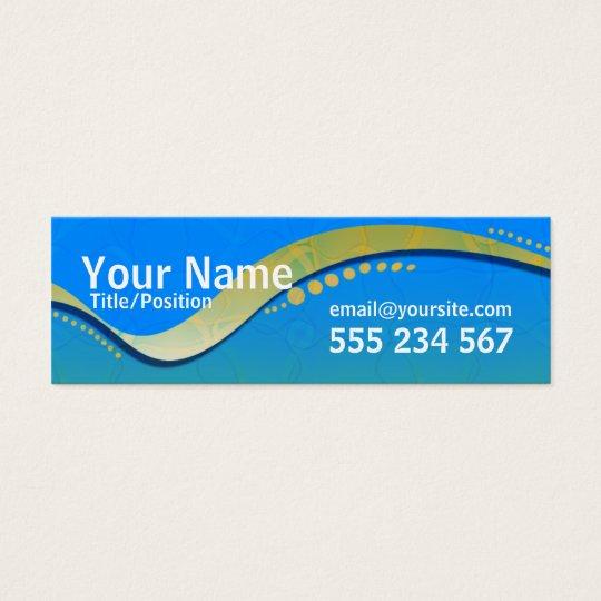 OZTRALiANA Skinny Profile Mini Business Card