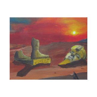 Ozymandias Stretched Canvas Print