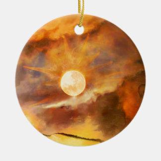 Ozymandias.jpg Ceramic Ornament