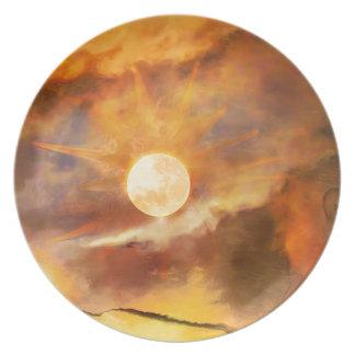Ozymandias.jpg Dinner Plate