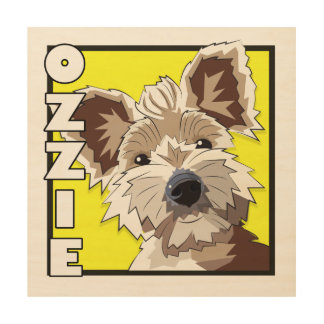 Ozzie Wood Wall Decor