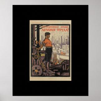 P0788 - Militia army-army_Propaganda Poster